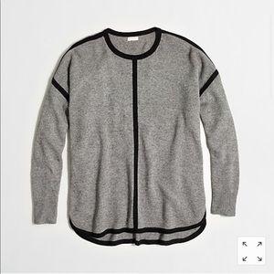 J Crew Tipped Oversized Sweater Size XXS